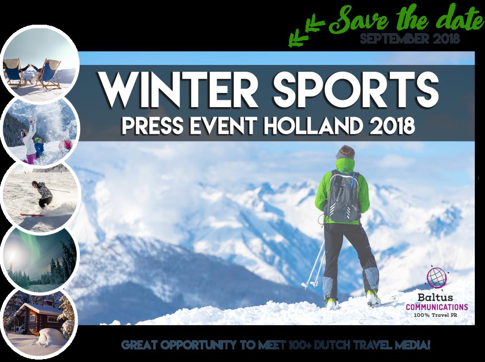 Winter Sports Press Event Holland   by Baltus Communications