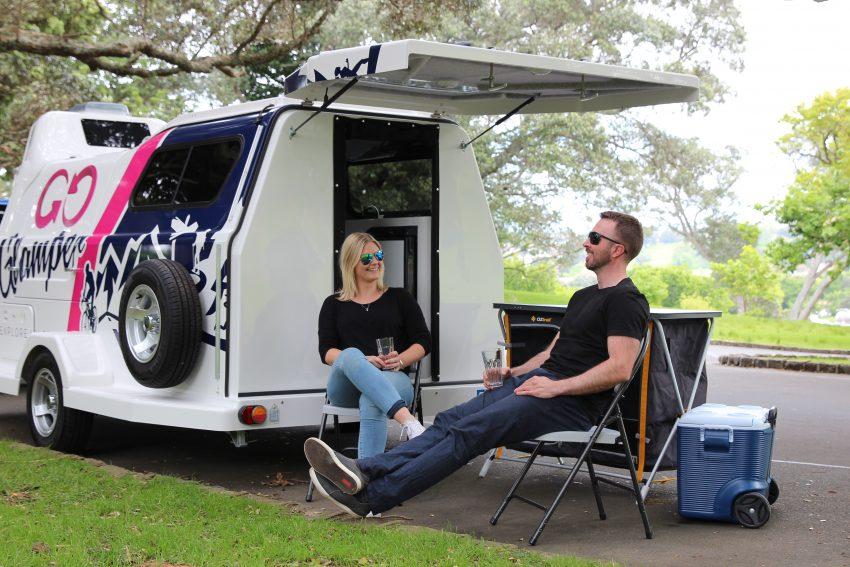 Huur bij Travelhome een kekke caravan in Nieuw-Zeeland