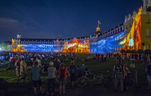 Geluids- en lichtshow Karlsruhe 2019