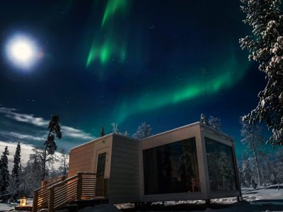 Mooie acco van Northern Lights Ranch in Finland