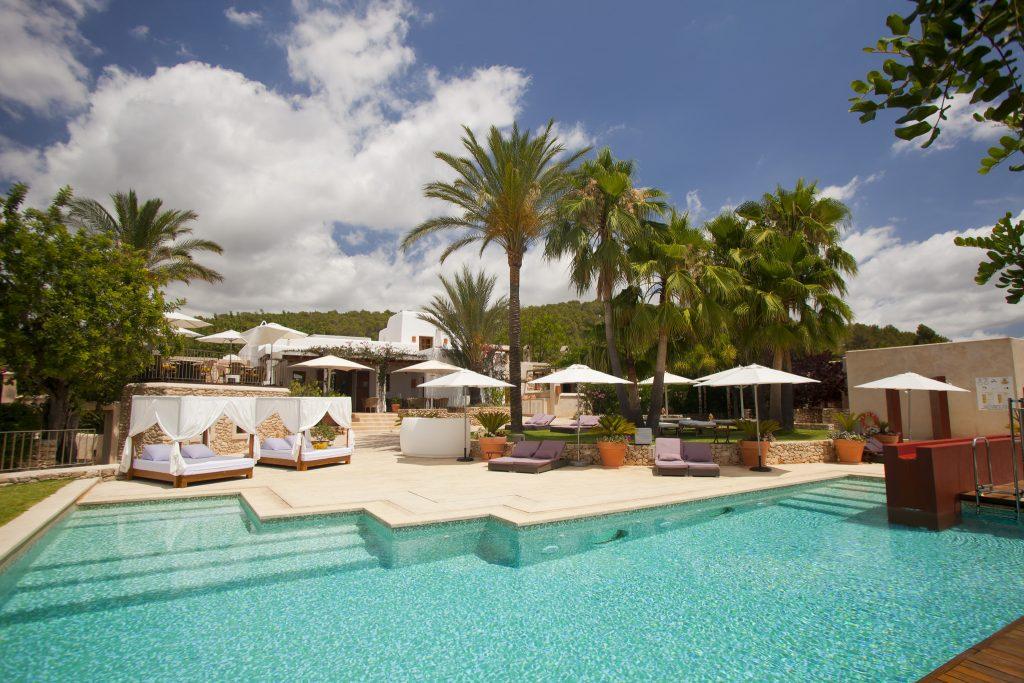Zwembad boetiekhotel Can lluc Ibiza