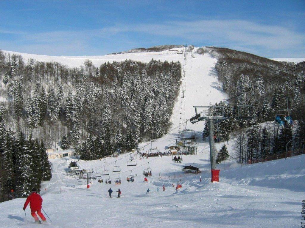 Skihelling in la Bresse - Vogezen