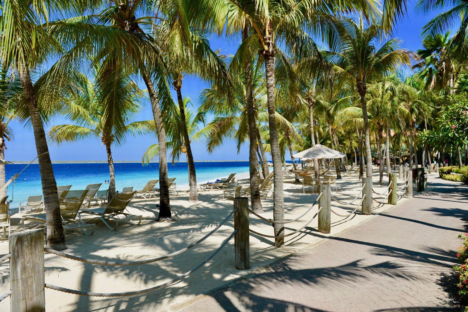 Prive strand Harbour Village Bonaire