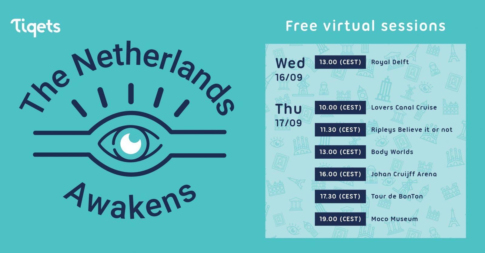 The Netherlands Awekens Line Up
