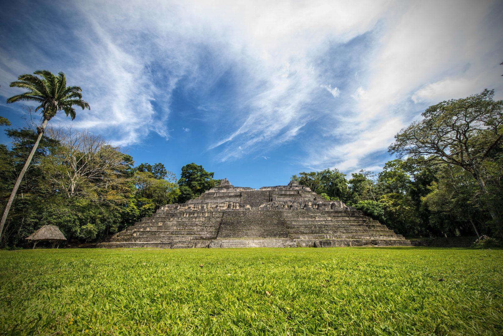 Maya tempel in Belize