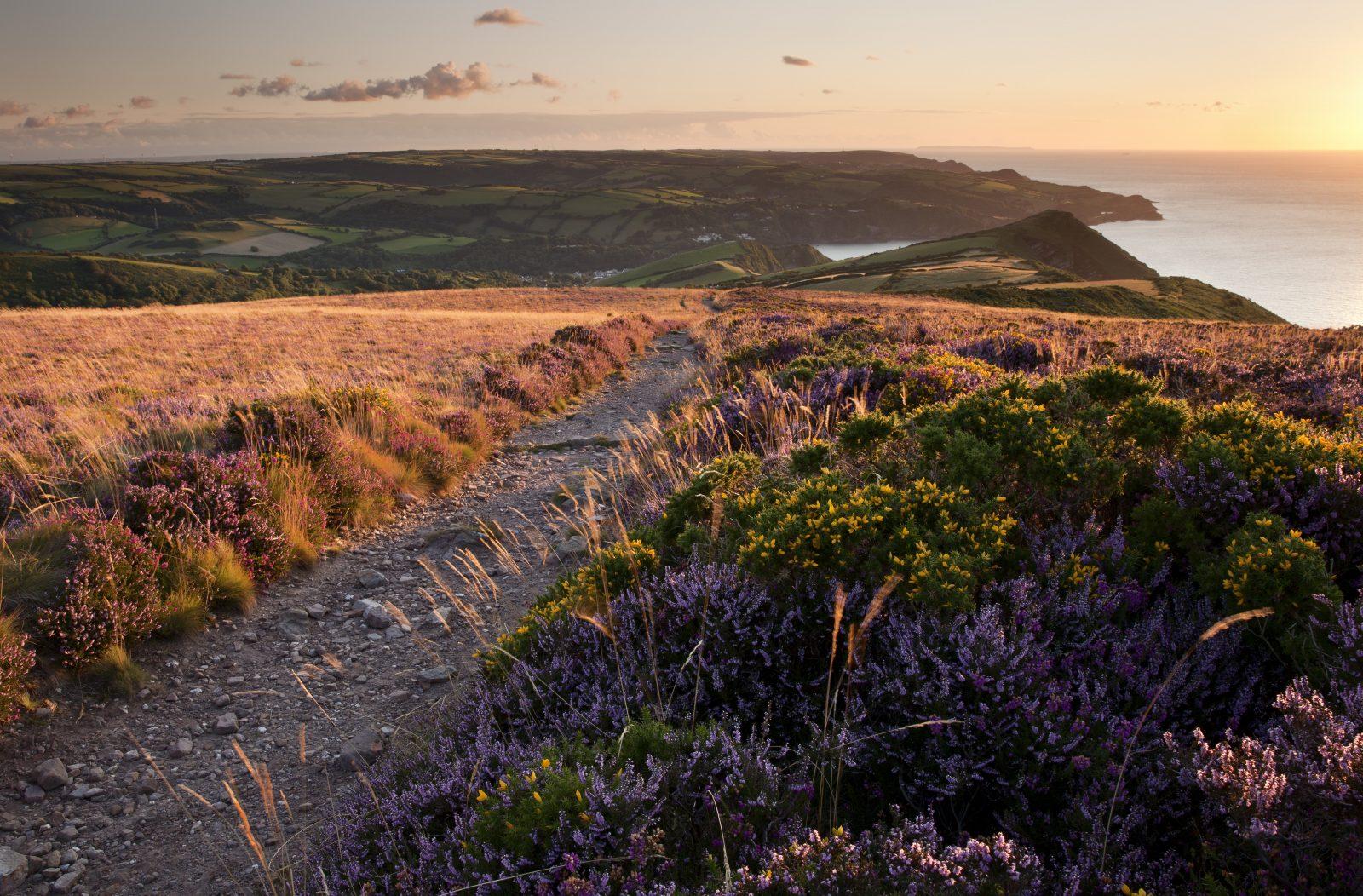 Autumn On The North Devon Coast. Great Hangmans. Combe Martin.. Photographer: Andrew Wheatley
