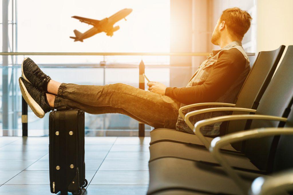 Het is niet altijd fijn om te vertoeven op luchthavens